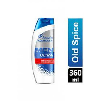 HEAD SHOULDERS SAMPUAN 360ML. ULTRA OLD SPICE